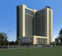 Architecture 618 office Building 3D Model