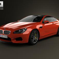 BMW M6 Coupe (F13) 2013 3D Model