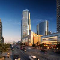 Cityscape Skyscraper 002 3D Model