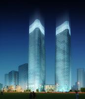 Cityscape Skyscraper 004 3D Model