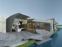 Architecture 634 Villa Building 3D Model