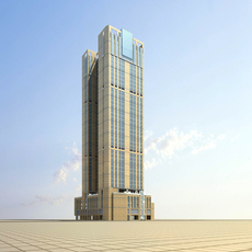 Architecture 640 office Building 3D Model
