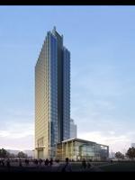 Cityscape Skyscraper 006 3D Model