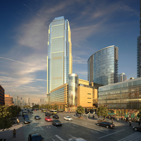 Cityscape Skyscraper 007 3D Model