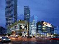 Cityscape Skyscraper 009 3D Model