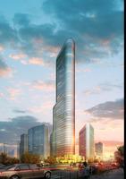 Cityscape Skyscraper 010 3D Model
