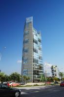 Cityscape Skyscraper 011 3D Model
