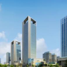 Cityscape Skyscraper 012 3D Model