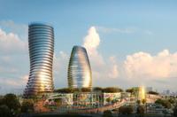 Cityscape Skyscraper 014 3D Model
