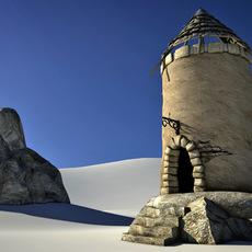old tower 3D Model