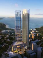 Cityscape Skyscraper 015 3D Model