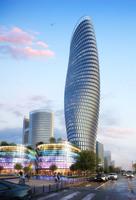 Cityscape Skyscraper 016 3D Model