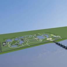 Architecture 648 Villa Building 3D Model
