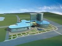 Architecture 652 Mall Building 3D Model