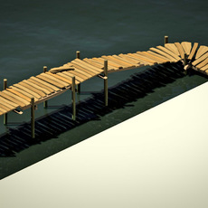 boardwalk 2 3D Model