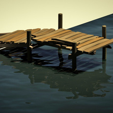 boardwalk 3D Model