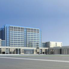 Architecture 661 office Building 3D Model