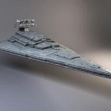 StarWars Star Destroyer 3D Model