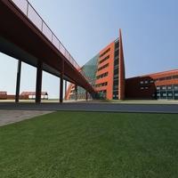 Architecture 675 office Building 3D Model