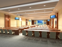Conference Room 08 3D Model