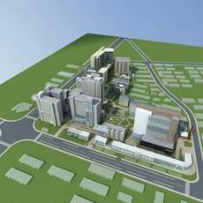Architecture 679 office Building 3D Model