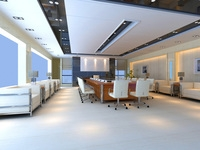 Conference Room 10 3D Model
