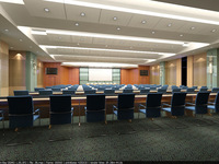 Conference Room 12 3D Model