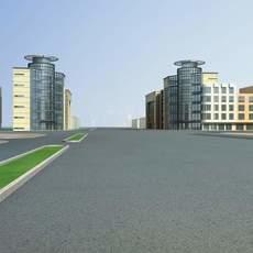 Architecture 685 City Block Building 3D Model