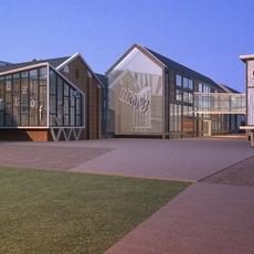 Architecture 687 Commercial Building 3D Model