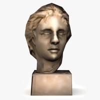 Alexander Bust 3D Model