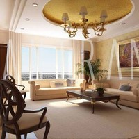 3d rendering interior view cover