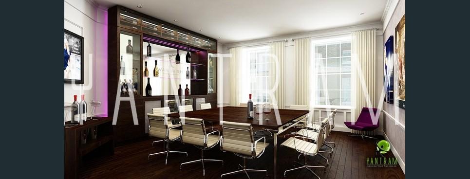 Commercial 3d interior design show