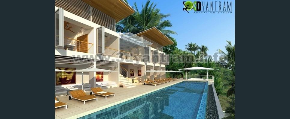 3d architectural walkthrough show
