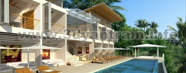 3d architectural walkthrough wide