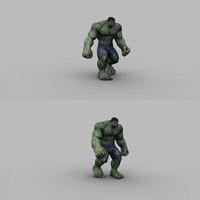 Planche posing hulk cover