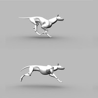 Planche posing chien cover