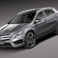 Mercedes-Benz GLA AMG 2014 3D Model