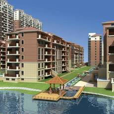 Architecture 693 multilayer Residential Building 3D Model
