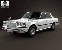 Toyota Crown sedan 1979 3D Model