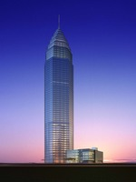 Architecture 725 Skyscraper Building 3D Model