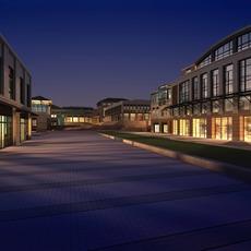 Architecture 729 Commercial Building 3D Model