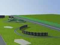 Architecture 751 Landscape Building 3D Model