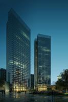 Cityscape Skyscraper 019 3D Model