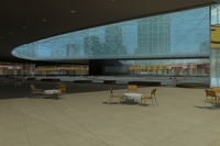 Architecture 764 Mall Building 3D Model