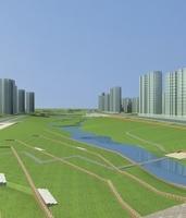 Architecture 768 City Block Building 3D Model