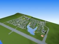 Architecture 789 City block Building 3D Model
