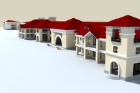 Architecture 796 Villa Building 3D Model
