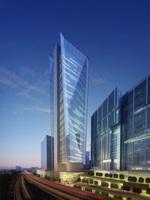 Architecture 753 Skyscraper office Building 3D Model