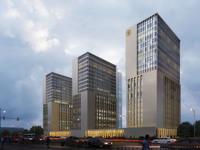 Cityscape Skyscraper 027 3D Model