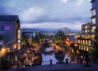 City Block 030 3D Model